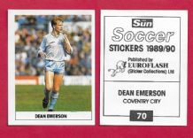 Coventry City Dean Emerson 70